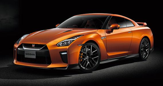 日産GT-Rオレンジ