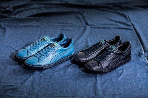 PUMA-States Indigo Leather