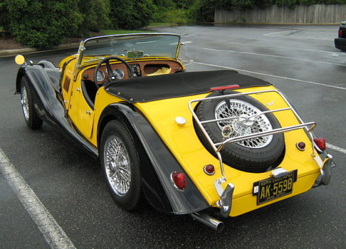 モーガン1963年型リア