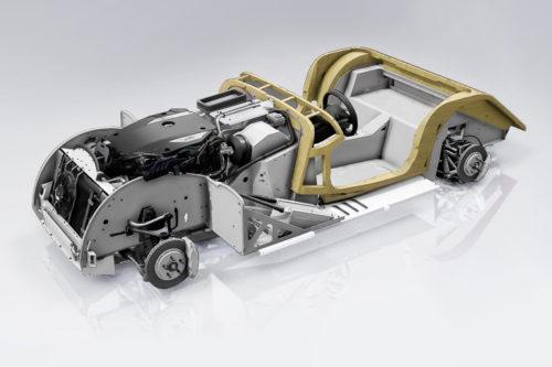 モーガン・プラス6プラットフォーム木製